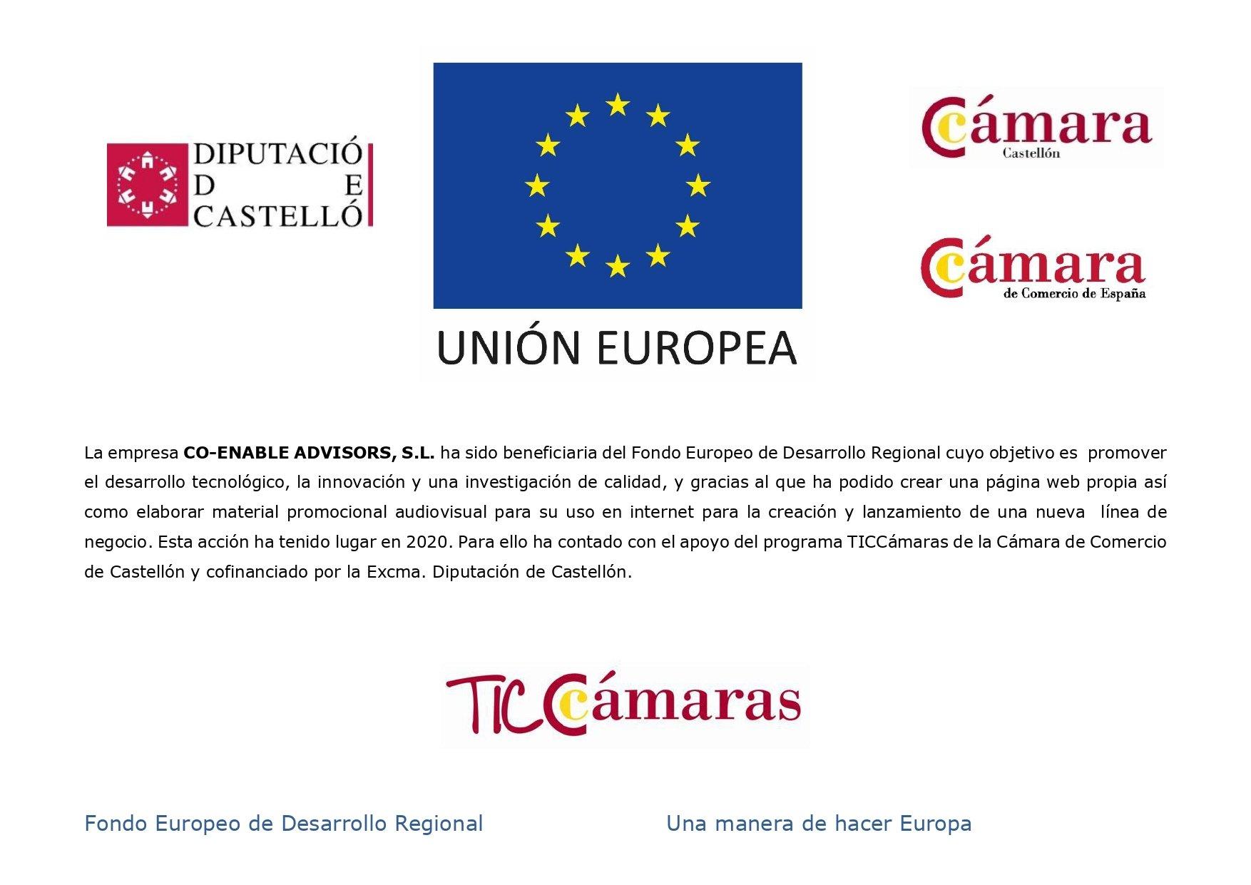 Co enable consultora estratégica beneficiaria TICCAMARAS